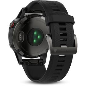 Garmin fenix 5 Montre GPS multisport avec bracelet noir, grey